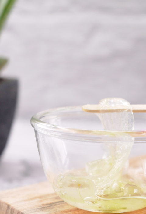 gel de aloe vera